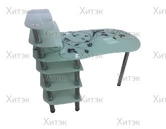 Маникюрный стол SM3-04 стекло