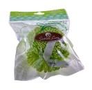 Мочалка S-5017 Lime Green для тела (полиуретан)