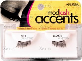 Ресницы Accents Lashes для внешних краев глаз №301
