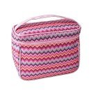 Косметичка Зигзаг чемодан розовый