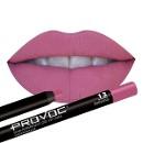 Гелевая подводка-карандаш для губ, цвет розово-малиновый