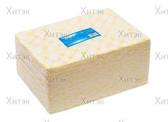Полотенце большое в пачке 45x90 желтый спанлейс 50 (50шт)