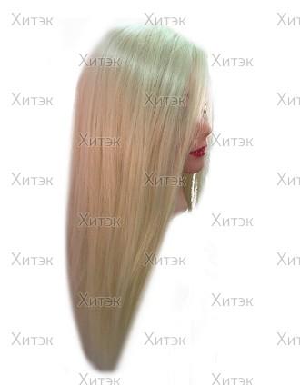 Голова учебная блонд искусственный +PRO-H, 55 см