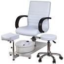 Р01 педикюрная группа, белое ( стул, ванночка )