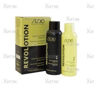 Лосьон для коррекции цвета волос Revol Otion, 150+150 мл