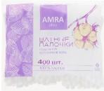 Ватные палочки в пакете Amra Ultra, 400 шт
