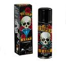 Спрей-краска для тела черная Хэллоуин с трафаретами, 160 мл