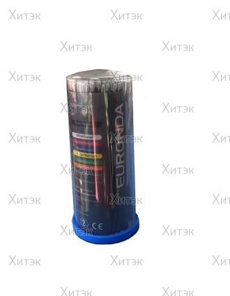 Палочки для коррекции ресниц №1 черные X-Slim, 100 шт