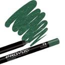 Гелевая подводка-карандаш для глаз, цвет темно-зеленый