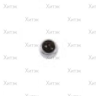 Сегьга медицинская Полудрагоценный камень Черный оникс