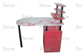 Маникюрный стол с тумбой SMT-12, 1100 x 600 x 750