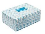 Полотенце большое в пачке 45x90 голубой спанлейс 50 (50шт)