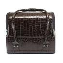 Сумка-чемодан для визажиста и мастера маникюра, коричневая