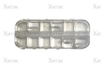 Контейнер для дизайна, матовый пластик, 12 секций
