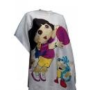Пеньюар для стрижки Даша путешественница детский, 95х120 см