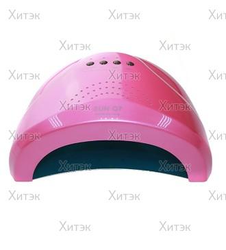 UV LED лампа 24W-48W SUN Q7 розовая
