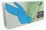 Перчатки нитриловые, голубые, размер S, 100 шт/упак