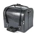 Сумка-чемодан для визажиста и мастера маникюра, черная