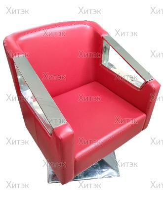 Кресло парикмахерское Virginia А122, красный