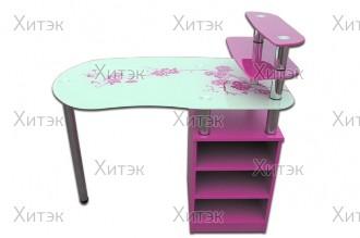 Маникюрный стол с тумбой SMT-08, 1100 x 600 x 750