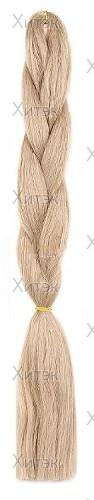 AIDA 102 коса для афропричесок блондин с серым отливом, 130 см