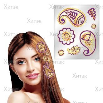Набор для декорирования волос Узоры