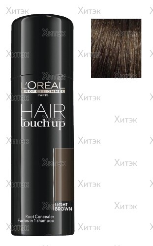 Профессиональный консилер для волос светло-коричневый, 75 мл